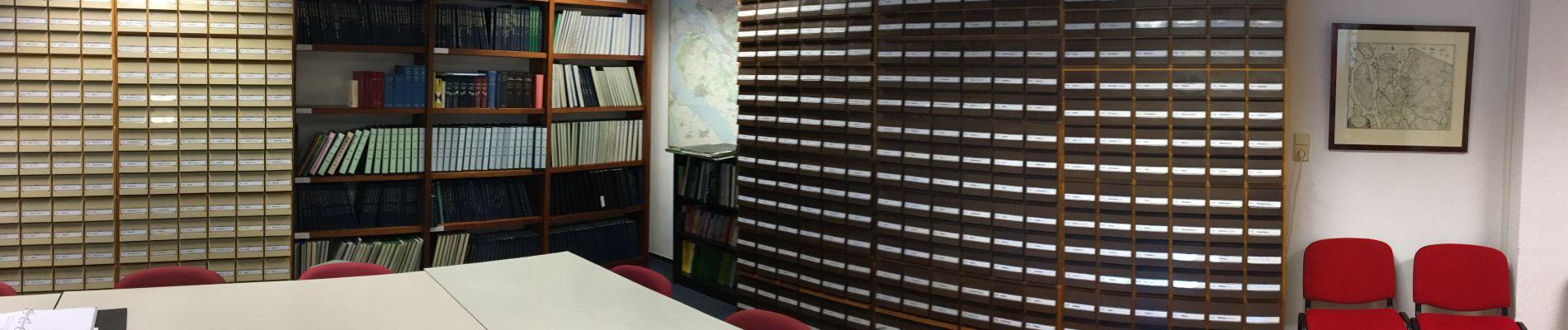 Verricht uw historisch onderzoek op de studiezaal