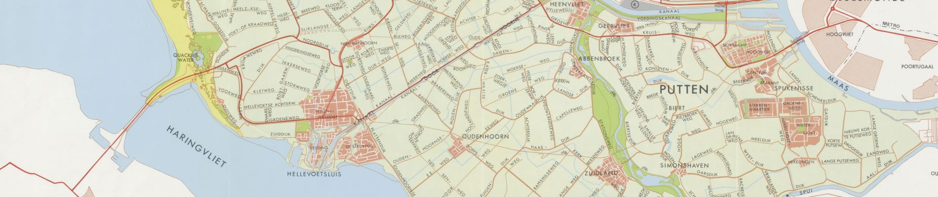 Bekijk het veranderde landschap op kaarten